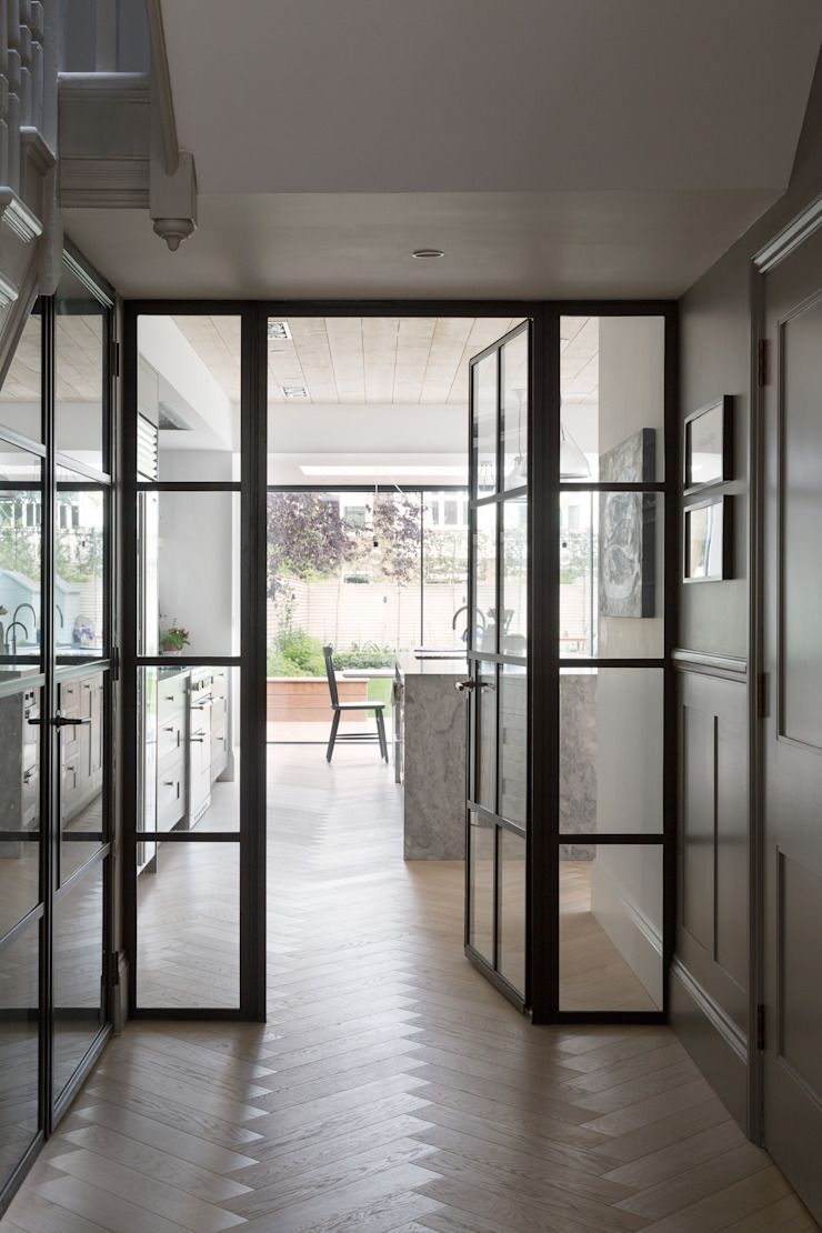 Hallway Modern Windows and Doors by Shape London Modern