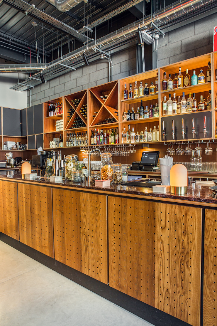 Bar Bares y clubs de estilo moderno de Shape London Moderno