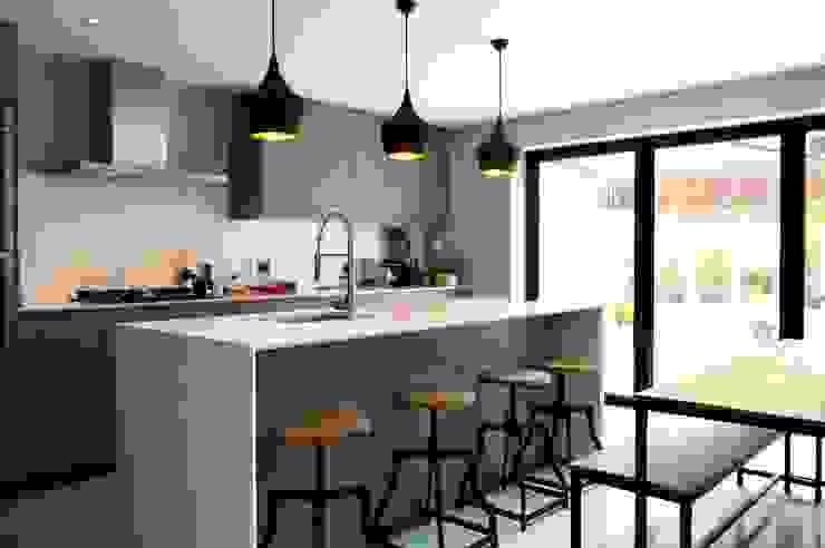 Dining & Kitchen Space dwell design ห้องครัว