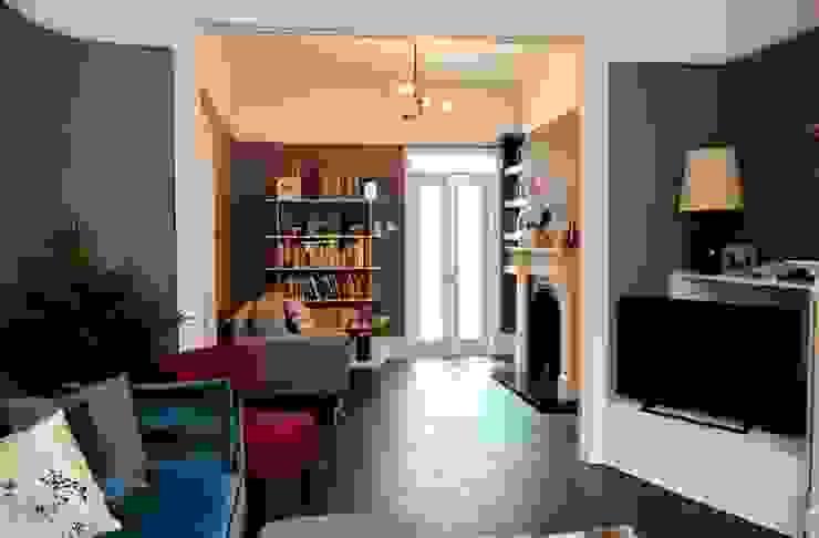 Open-plan Living Space dwell design ห้องนั่งเล่น