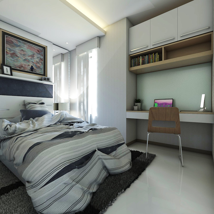 Modern style bedroom by Maxx Details Modern