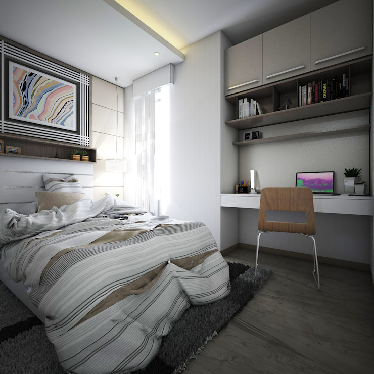 Bedroom by Maxx Details, Modern