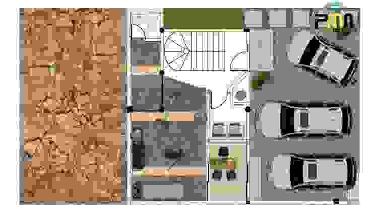 Proyectos y Maquinaria Del Norte SA de CV Palestra in stile moderno