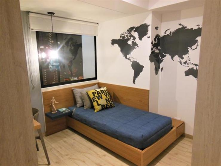 Habitación Juvenil Habitaciones para niños de estilo moderno de AlejandroBroker Moderno