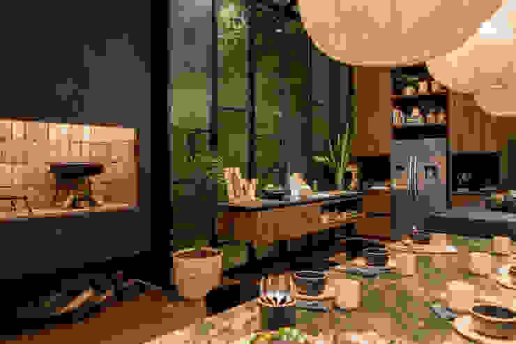 Tumburus Lucas - Diseño y Arquitectura Interior Moderne eetkamers