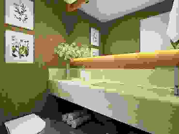 Lavabo: Banheiros  por Liliana Zenaro Interiores,