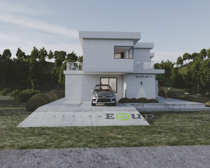 디자인 이업 Country house Bricks Grey