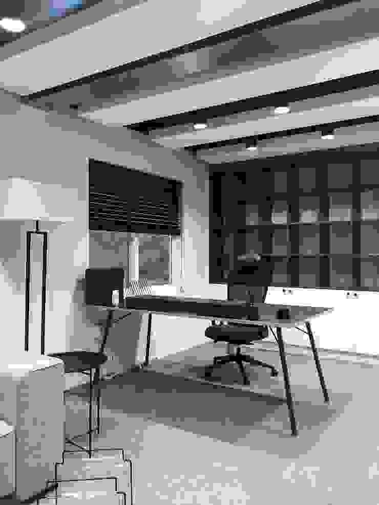 Phòng học/văn phòng phong cách hiện đại bởi studio_BAT Hiện đại