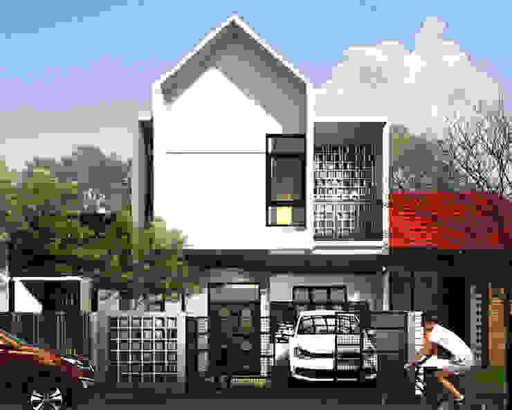tampak depan Oleh 3.se studio Modern Beton