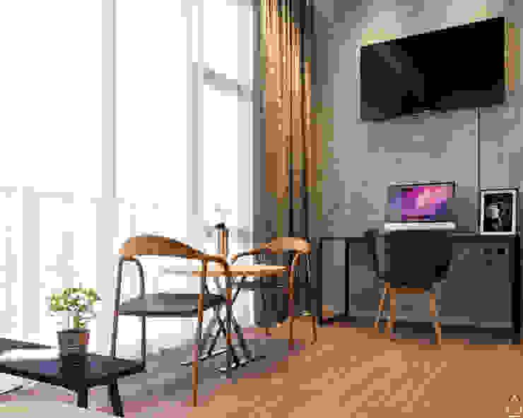 Apartement type studio Hotel Gaya Industrial Oleh abdulrahman_studio Industrial