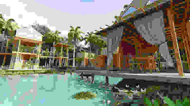 PIRAIPINA โดย GRID ARCHITECT THAILAND คันทรี่ ไม้ไผ่ Green