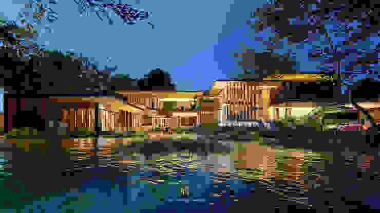 Modern Tropical โดย GRID ARCHITECT THAILAND ทรอปิคอล