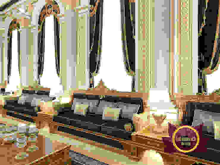 Unique Stunning Majlis Interior by Luxury Antonovich Design