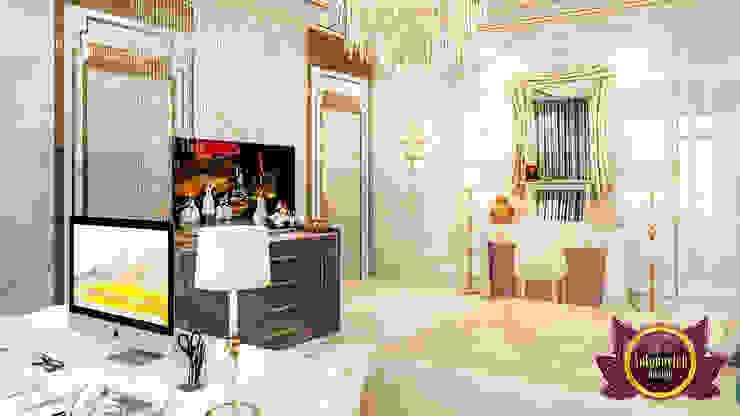 Lovely Elegant Bedroom Interior by Luxury Antonovich Design