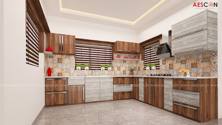 Interior Designers in Chengannur by Aescon Builders and Architects Asian
