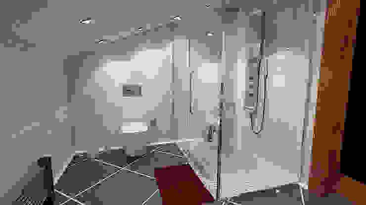 İndeko İç Mimari ve Tasarım BathroomBathtubs & showers