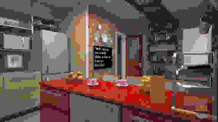 Cocinas de estilo  por 5CINQUE ARQUITETURA LTDA