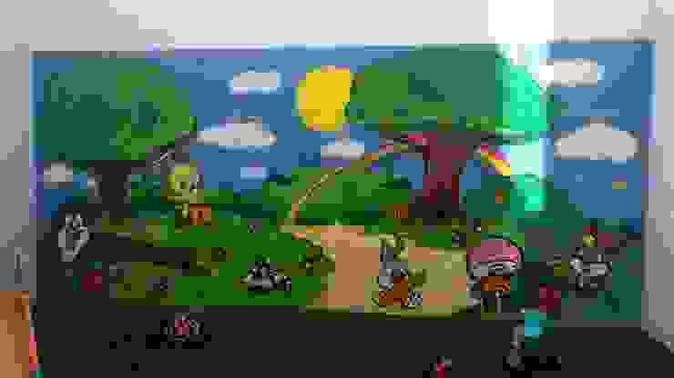 dmg-graffitis Dinding & Lantai Gaya Klasik