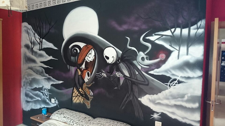 dmg-graffitis Kamar Tidur Modern