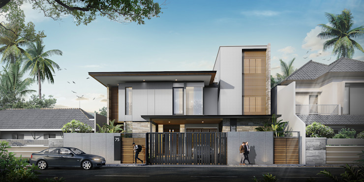MALAIHOLO RESIDENCE: Rumah oleh Baskara Design and Planning, Tropis