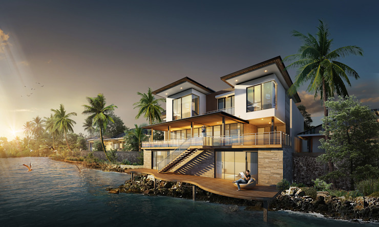 MALAIHOLO RESIDENCE Baskara Design and Planning Rumah Tropis