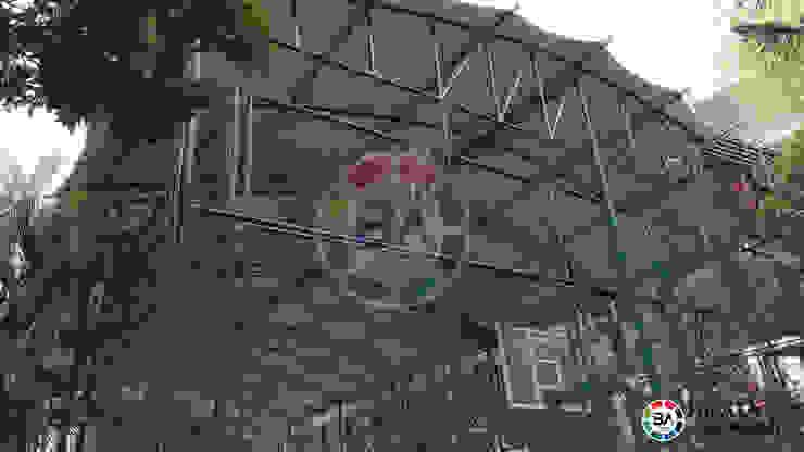 Tenda Membrane Lapangan Futsal Jakarta Oleh Braja Awning & Canopy Modern Karet