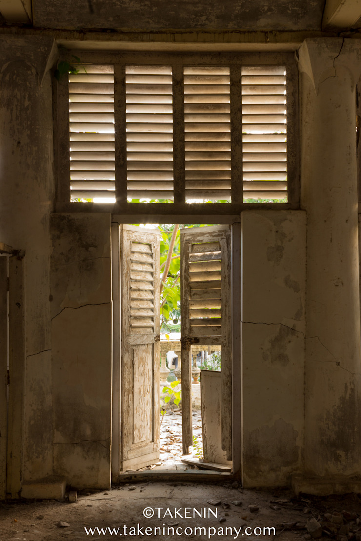 Abandoned School Pondicherry TakenIn Classic style houses