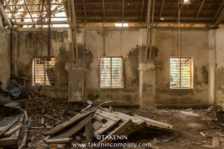 Abandoned School Pondicherry TakenIn Balcony