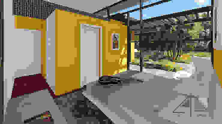 Alcoba Principal con baño de ARQUITECTOnico