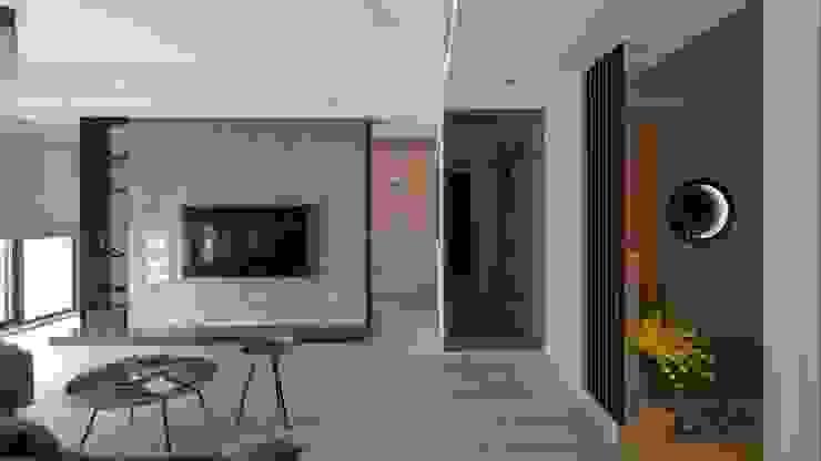 客廳 極簡室內設計 Simple Design Studio 现代客厅設計點子、靈感 & 圖片