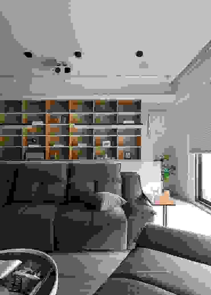 書房閱讀區 極簡室內設計 Simple Design Studio 書房/辦公室