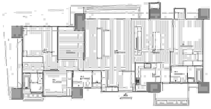 調整後格局 極簡室內設計 Simple Design Studio 地板