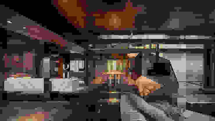 Residence of h 根據 沈志忠聯合設計 現代風
