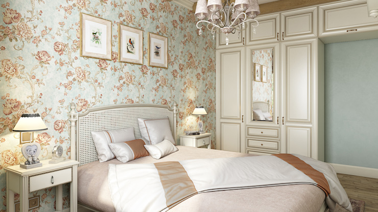 Country style bedroom by Zibellino.Design Country