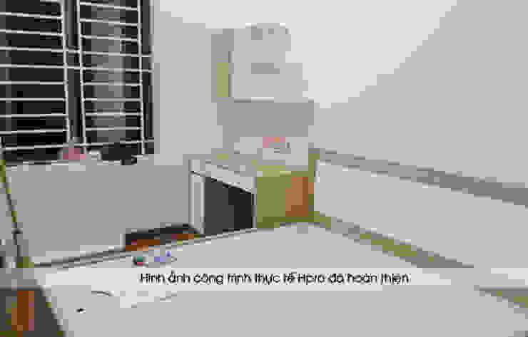 Lắp đặt nội thất phòng ngủ bé trai gỗ laminate nhà chị Hương ở Việt Trì: hiện đại  by Nội thất Hpro, Hiện đại