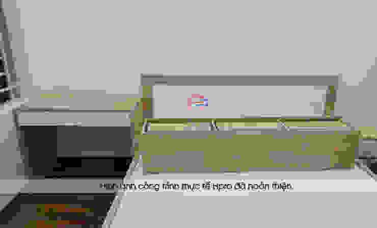 Thi công nội thất phòng ngủ bé gái gỗ laminate nhà chị Hương ở Việt Trì: hiện đại  by Nội thất Hpro, Hiện đại