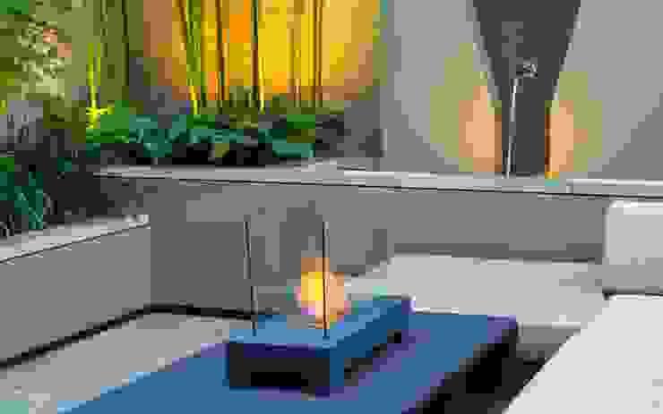 Modern garden fire table MyLandscapes Garden Design 庭院