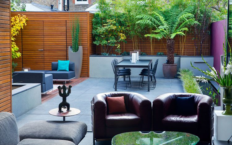 Modern indoor outdoor garden design MyLandscapes Garden Design 庭院