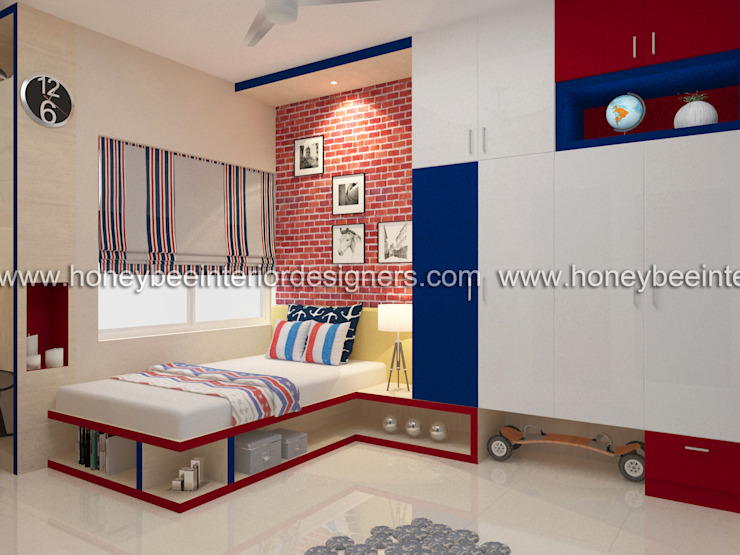 Kid's Room Honeybee Interior Designers Eclectic style bedroom
