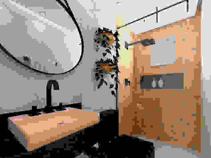 Kamar Mandi Modern Oleh Caroline Peixoto Interiores Modern