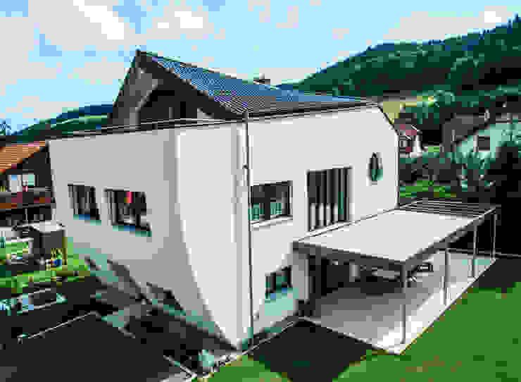 by archipur Architekten aus Wien Сучасний Цегла