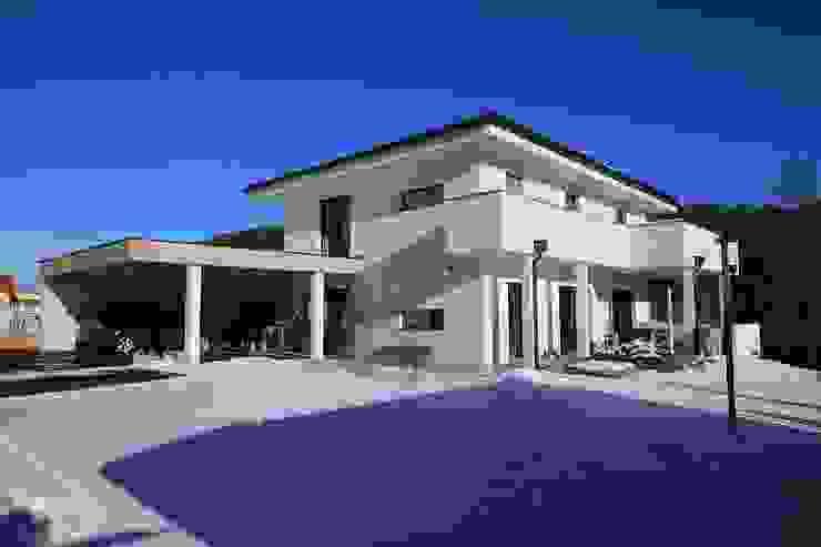 Südwestansicht Moderne Häuser von archipur Architekten aus Wien Modern
