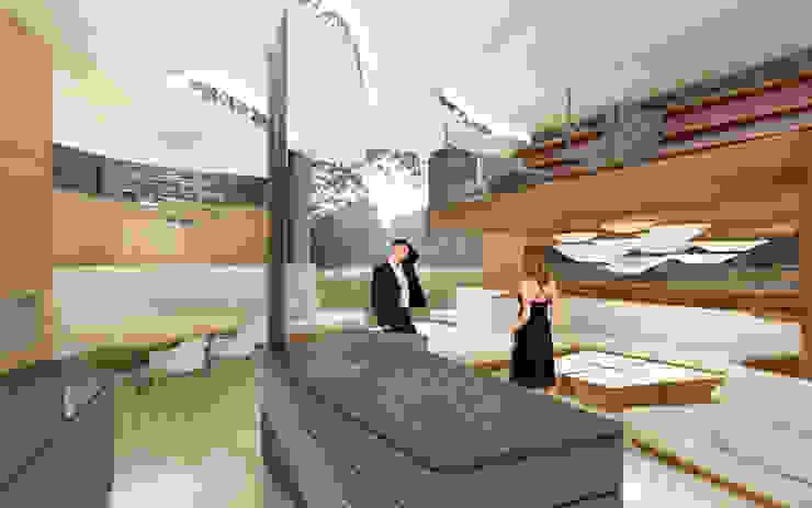 Luxury Kitchen archipur Architekten aus Wien KücheArbeitsplatten Marmor