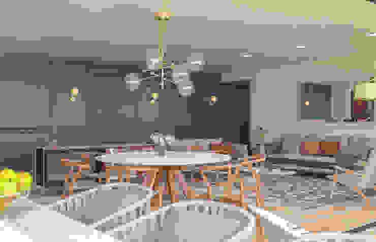 Simple Mob sa de cv Mediterranean style dining room Marble Blue