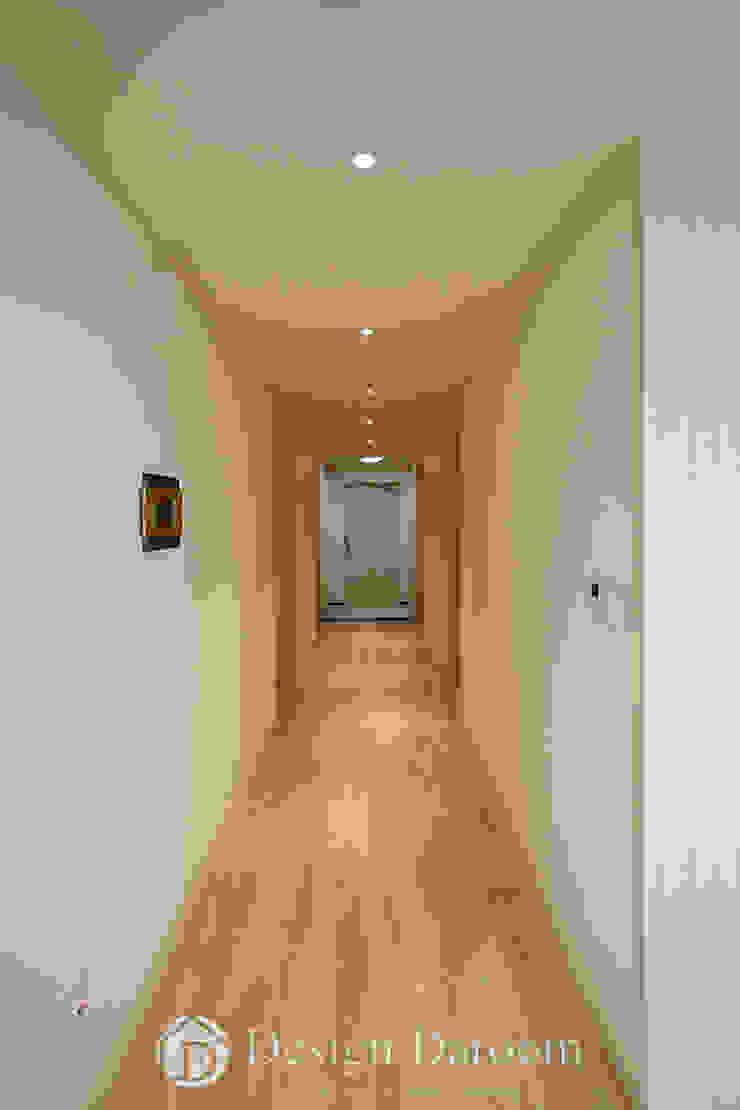 광장동 신동아 파밀리에 32py 복도 모던스타일 복도, 현관 & 계단 by Design Daroom 디자인다룸 모던