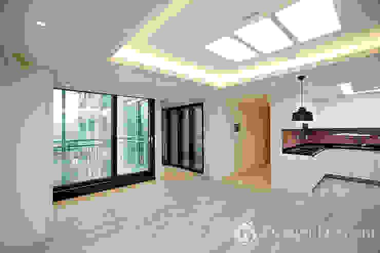 광장동 신동아 파밀리에 32py 거실 모던스타일 거실 by Design Daroom 디자인다룸 모던