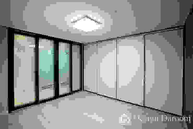 광장동 신동아 파밀리에 32py 안방 침실 모던스타일 침실 by Design Daroom 디자인다룸 모던