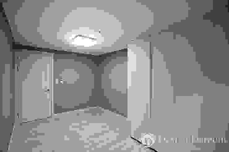 광장동 신동아 파밀리에 32py 침실 모던스타일 침실 by Design Daroom 디자인다룸 모던