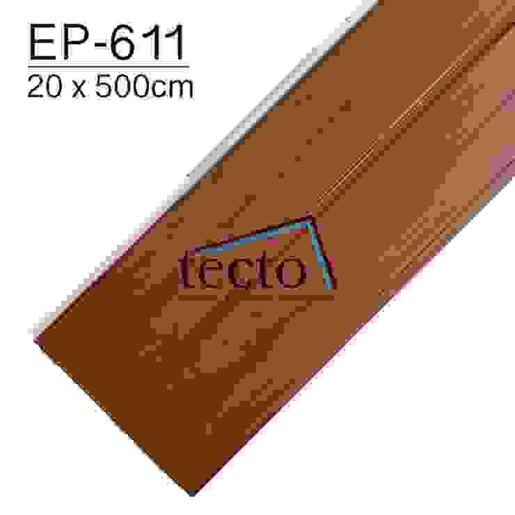 TECTO Plafon PVC EP-611 20cm X 500cm Oleh Tecto Plafon Asia Plastik