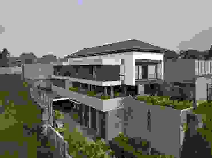 Gio House Setraduta Oleh CV Berkat Estetika Tropis Beton Bertulang